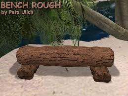 second life marketplace bench rough copy old bench wood
