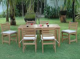 Wooden Patio Furniture Furniture New Modern Patio Furniture Set Stunning Wood Patio