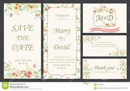Small Invitation Cards Wedding Invitation Card Template Stock Photo Image 65705456