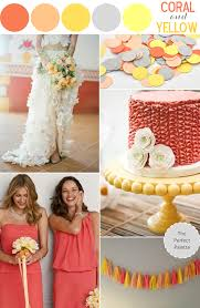 Color Palette Yellow by Color Story Coral And Yellow The Perfect Palette