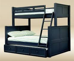 Dillon Navy Blue Twin Over Full Bunk Bed Twin Over Full Bunk Bed - Navy bunk beds