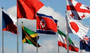 South Korea Flag North Korean Athletes Arrive In South Korea For Olympics Naples