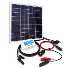 solar light mart solar light mart 50wdiyck solar panel power battery charging kit