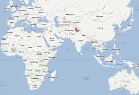 world map pakistan karachi lahore map