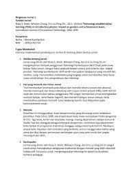 ringkasan jurnal 1 melati test assessment constructivism