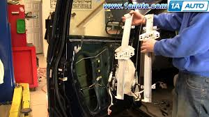 how to install replace power window regulator honda odyssey 99 03