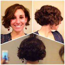 short hair layered and curls up in back what to do with the sides short bob long layers google search hair pinterest short