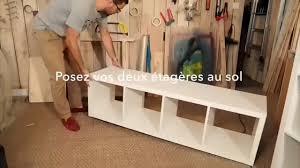 Banc Coffre Ikea Diy Fabriquer Un Lit Avec Des étagères Ikea Vidéo Dailymotion