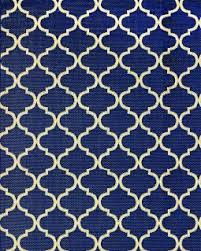 Pattern Rug Blue Pattern Rug Indoor Outdoor Area 5 X 7 8 X 10 9 X 9 Or 9 X 13