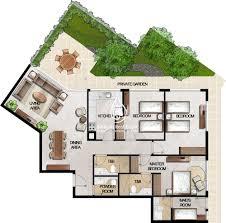 mag 5 boulevard studio apartment floor plan