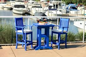Outdoor Bistro Table Bar Height Bar Height Outdoor Dining Sets Decor Of Bar Height Bistro Patio