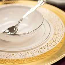 lace white plastic dinner plates smarty had a