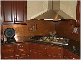 copper kitchen backsplash kitchen with copper backsplash fresh copper backsplash copper