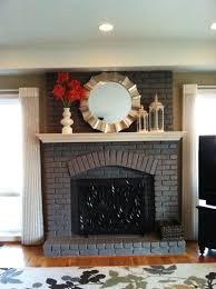 top style brick fireplace paint u2014 jessica color steps to use