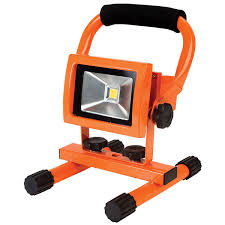 10w rechargeable flood light robus rledf10wrc cw 10w rechargeable led floodlight rapid online
