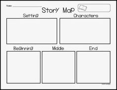 amazing freebie to use for story maps perfect for kindergarten