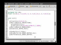 tutorial c opengl opengl tutorial 24 vbo and vertex array youtube