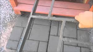 Paver Mold Kit by Quikrete Walkmaker Make Your Own Brickform Mold Youtube
