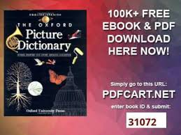 oxford english dictionary free download full version pdf the oxford picture dictionary english spanish edition the oxford