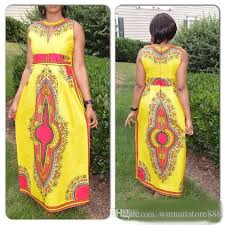 2017 spring traditional african clothing fashion sleeveless