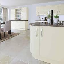 cream gloss kitchen cabinets light oak kitchen cabinets light