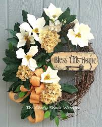 Grapevine Floral Design Home Decor The Spring Wreath Summer Wreath Magnolia Wreath Hydrangea Wreath