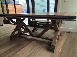 kitchen farmhouse table and bench plans kitchen table
