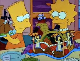 the simpsons s 2 e 7 bart vs thanksgiving recap tv tropes