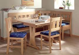 wood kitchen table with bench seating designs ideascorner storage