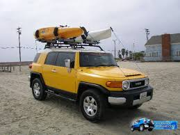thule roof rack kayak carrier pics toyota fj cruiser forum