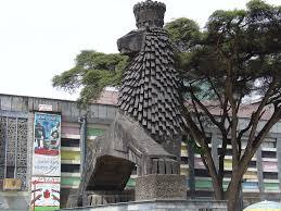 lion of judah statue lion of judah statue national theatre addis ababa ethio flickr