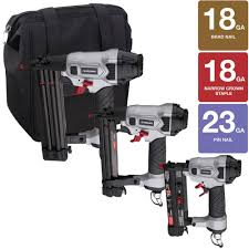 Husky Floor Nailer by Husky Finishing Kit 3 Piece Dp4pfk The Home Depot