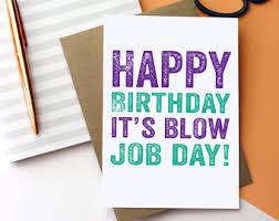 Greetings Card Designer Jobs Blow Job Card Etsy