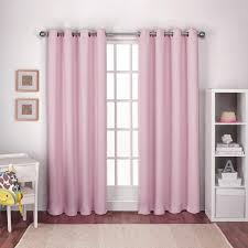 Ruffled Pink Curtains Curtain Curtain Decor Ruffled Pink Curtains Ideas Ruffle