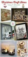 best 25 silhouette cameo christmas ideas on pinterest