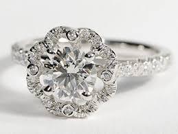 scalloped engagement ring wedding rings engagement rings for jewelry wedding rings
