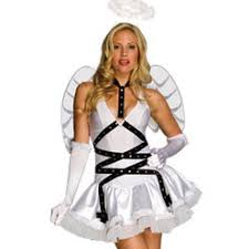 Female Dog Halloween Costumes White Angel Wings Pet Dog Halloween Costume
