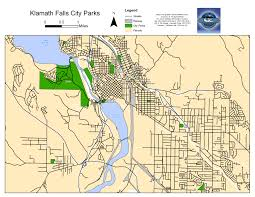 parks map city of klamath falls parks