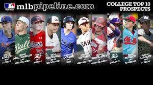 top 10 college prospects for the 2018 draft mlb com