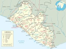 Map West Africa by Map Of Liberia Travel Africa