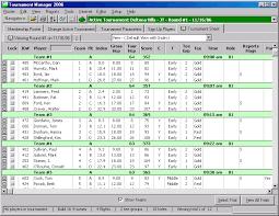 Golf Stat Tracker Spreadsheet Golfsoftware Com Golf Tournament Software
