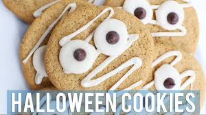 halloween sugar cookies easy vegan w sweetpotatosoul youtube