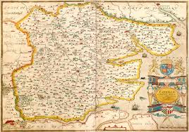 Essex England Map by England U0026 Wales Christopher Saxton 1579 M Aa 3 U2013 L Brown Collection