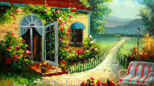 Beautiful Cottage Houses Beatiful Garden Path Rural Beauty Beautiful Cottage