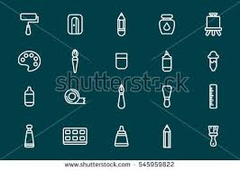 Painting Icon Painting Palette Stock Images Royalty Free Images U0026 Vectors