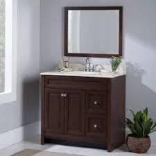 Glacier Bay Bathroom Vanities Glacier Bay Candlesby 30 1 2 In W X 18 3 4 In D Bath Vanity In