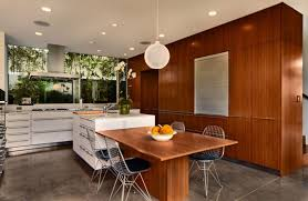 inspiring modern kitchen design ideas with dining area with
