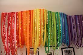 top party streamer decoration ideas home design awesome interior