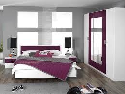 chambre blanc et violet inspirations avec chambre gris et aubergine