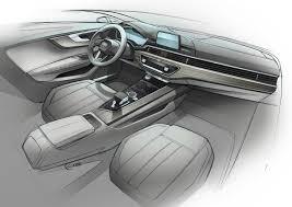 lexus interior sketch 2016 audi a4 2016 audi a4 avant officially unveiled